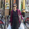 Exclusif - Pippa Middleton enceinte va faire ses courses dans les rues de Londres le 9 octobre 2018.