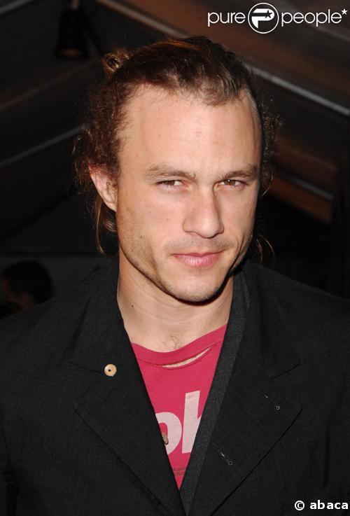 Le comédien Heath Ledger décédé le 22/01/08