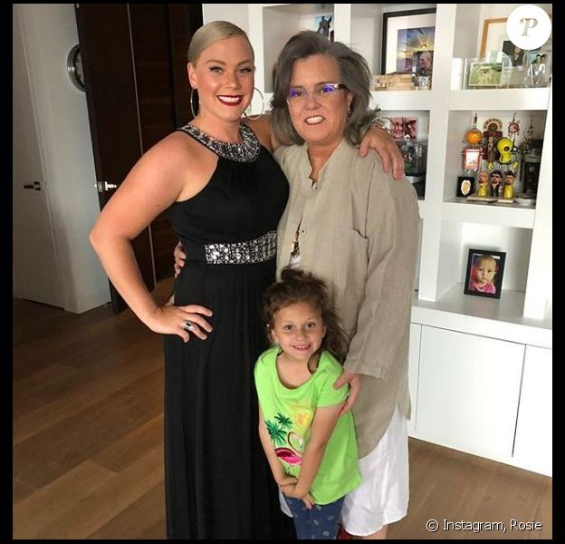 Rosie O'Donnell et sa compagne Elizabeth Rooney sur Instagram, le 8 mai 2018