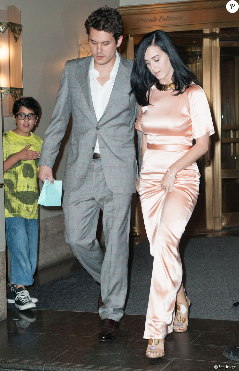 Katy Perry et John Mayer à New York. Le 24 juin 2013.
