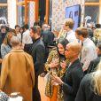 Soirée d'inauguration du pop-up store dédié à la collaboration 'Louis Vuitton x Grace Coddington. New York, le 25 octobre 2018.