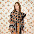 Julianne Moore - Soirée d'inauguration du pop-up store dédié à la collaboration 'Louis Vuitton x Grace Coddington. New York, le 25 octobre 2018.