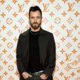 Justin Theroux - Soirée d'inauguration du pop-up store dédié à la collaboration 'Louis Vuitton x Grace Coddington. New York, le 25 octobre 2018.