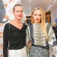 Olympia Scarry et Riley Keough - Soirée d'inauguration du pop-up store dédié à la collaboration 'Louis Vuitton x Grace Coddington. New York, le 25 octobre 2018.