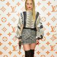 Riley Keough - Soirée d'inauguration du pop-up store dédié à la collaboration 'Louis Vuitton x Grace Coddington. New York, le 25 octobre 2018.
