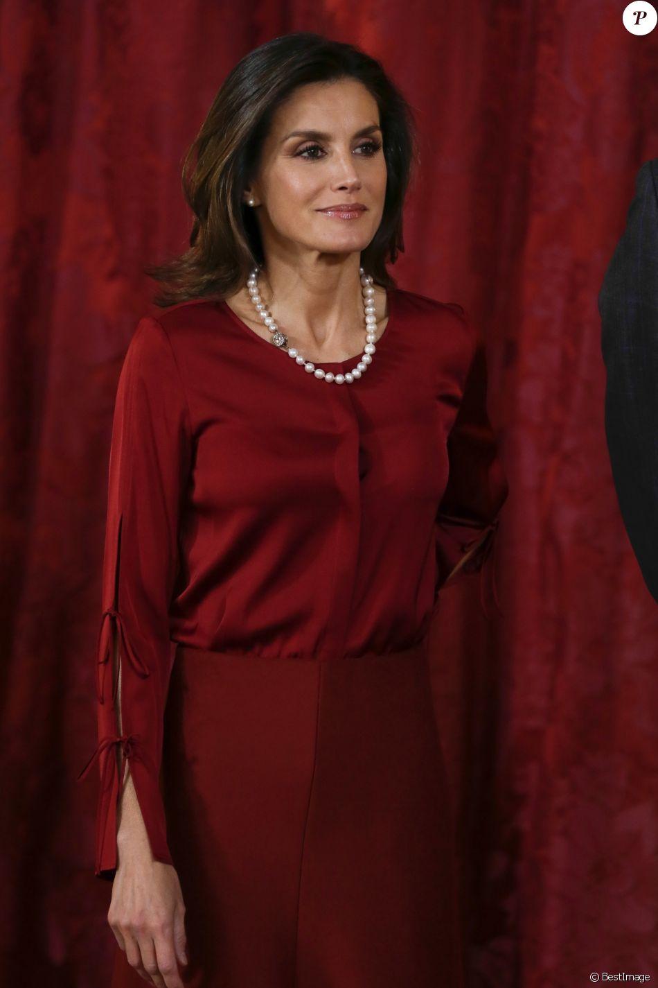 La Reine Letizia Despagne Le Président Allemand Et Sa
