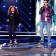 """Madison, Morgan et Talisa dans """"The Voice Kids 5"""" sur TF1 le 9 novembre 2018."""
