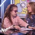 """Carla, Léna et Alexandre dans """"The Voice Kids 5"""" sur TF1, le 9 novembre 2018."""