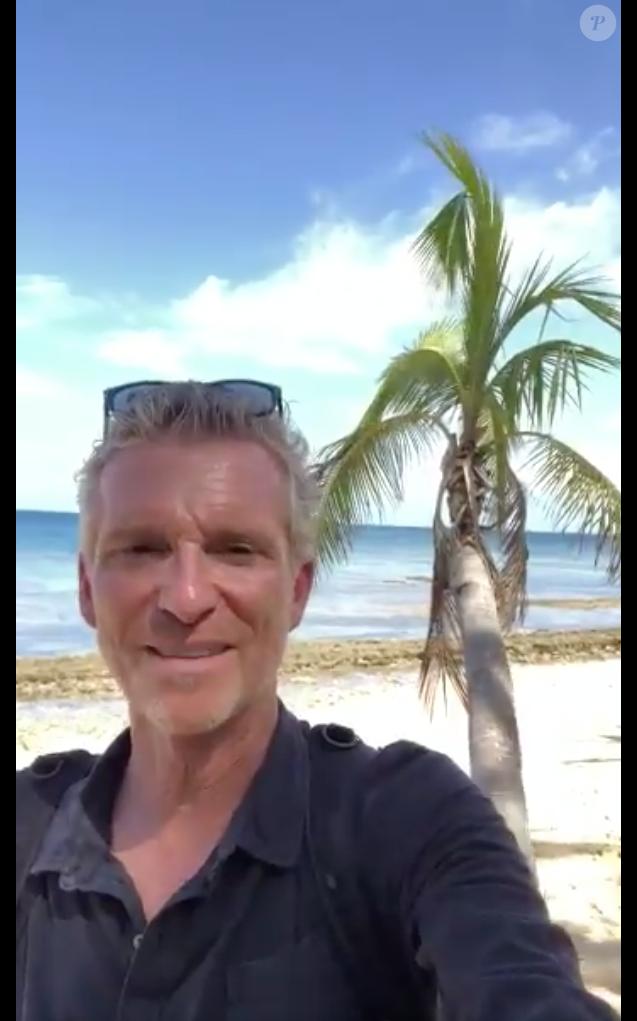 """Denis Brogniart donne des nouvelles du futur """"Koh-Lanta"""", le 4 novembre 2018 sur Twitter."""