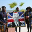 Le prince Charles, prince de Galles participe à une réunion sur les matières plastiques à Accra lors de son voyage au Ghana le 5 novembre 2018.