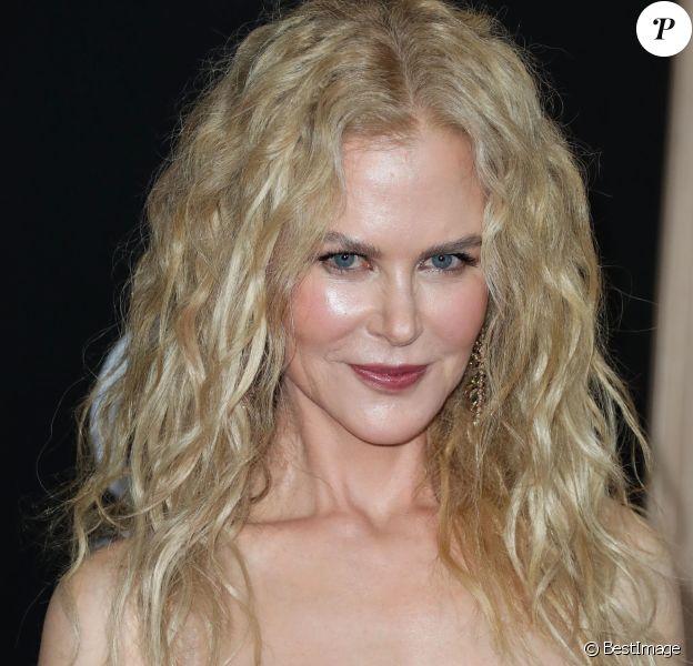 Nicole Kidman - Les célébrités posent lors du photocall du 22ème Hollywood Film Awards à Los Angeles le 4 novembre 2018