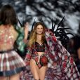 Behati Prinsloo - Défilé Victoria's Secret 2018 à New York. Le 8 novembre 2018.