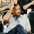 Will Smith assiste à un match de l'Open d'Autralie à Melbourne le 19 janvier 2018.