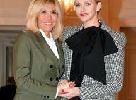 Brigitte Macron et Charlène de Monaco très complices pour un grand déjeuner
