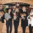 Rupert Everett, Kristin Davis, Kate Moss, Kathrin Glock, Dieter Bohlen et Freundin Carina - Ouverture du traditionnel marché de Noël de Henndorf près de Salzbourg en Autriche le 13 novembre 2018.