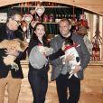 Rupert Everett, Kristin Davis, Dieter Ehrengruber - Ouverture du traditionnel marché de Noël de Henndorf près de Salzbourg en Autriche le 13 novembre 2018.