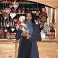Naomi Campbell - Ouverture du traditionnel marché de Noël de Henndorf près de Salzbourg en Autriche le 13 novembre 2018.