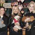 Kristin Davis, Kate Moss, Kathrin Glock - Ouverture du traditionnel marché de Noël de Henndorf près de Salzbourg en Autriche le 13 novembre 2018.