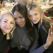 Kate Moss et Naomi Campbell : Radieuses à l'approche de Noël