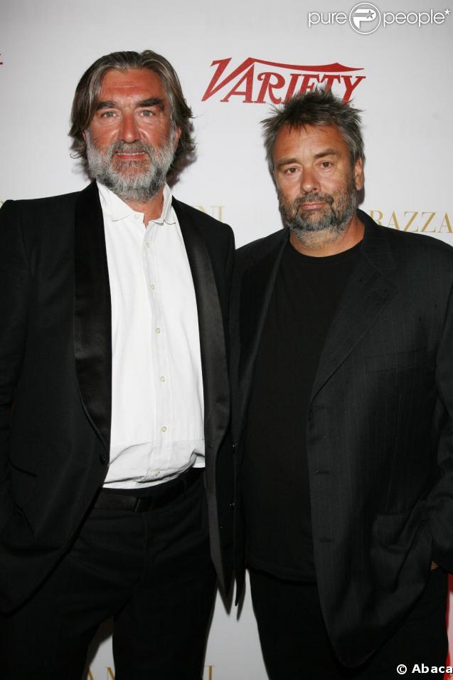 Pierre-Ange Le Pogam et Luc Besson, à la Terrazza Martini !