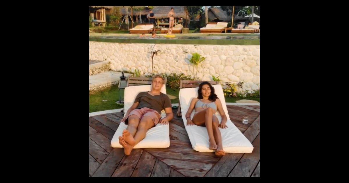 jules plisson en vacances avec sa compagne bali instagram le 14 novembre 2018 purepeople. Black Bedroom Furniture Sets. Home Design Ideas