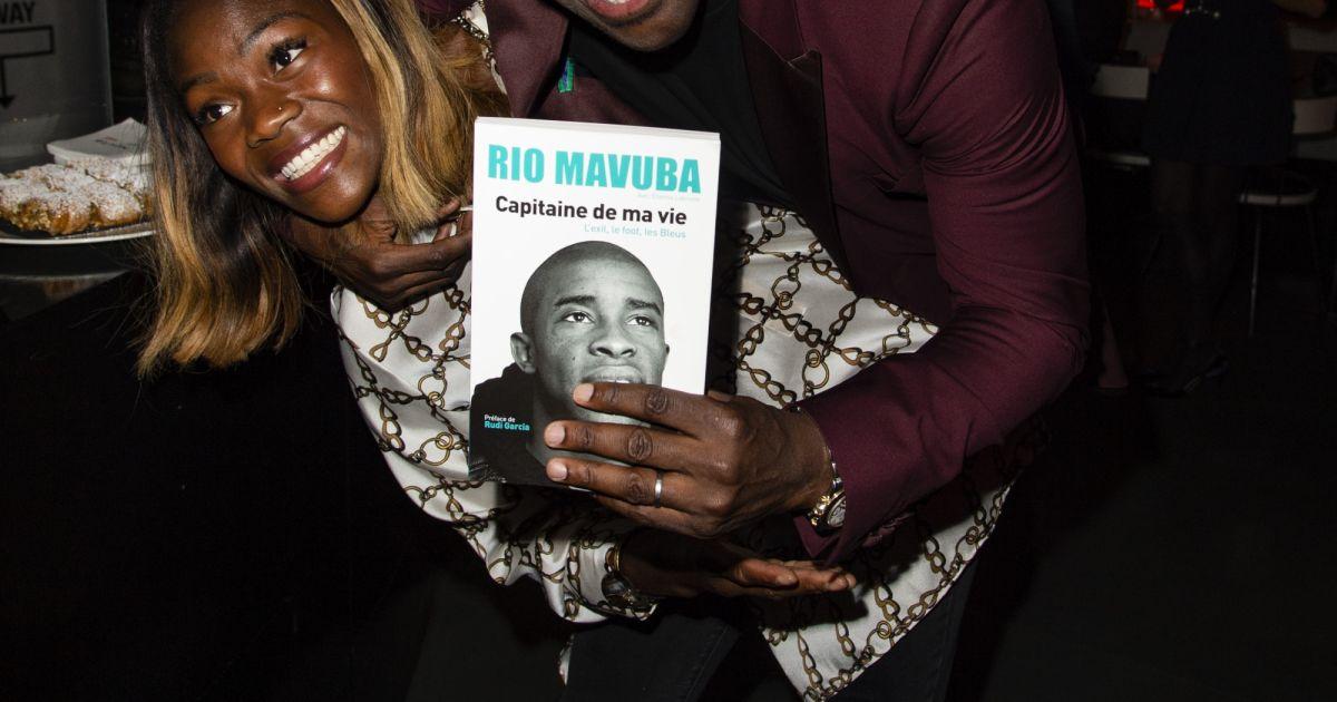 exclusif rio mavuba et clarisse agbegnenou soir e de lancement du livre de rio mavuba. Black Bedroom Furniture Sets. Home Design Ideas