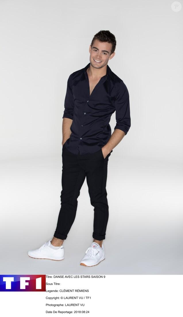 """Clément Rémiens - Photo officielle pour """"Danse avec les stars"""" - TF1"""