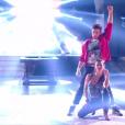 """Clément Rémiens dans """"Danse avec les stars 9"""", émission du jeudi 8 novembre 2018."""
