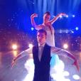 "Clément Rémiens et Denitsa Ikonomova lors des quarts de finale de ""Danse avec les stars 9"" (TF1) samedi 17 novembre 2018."
