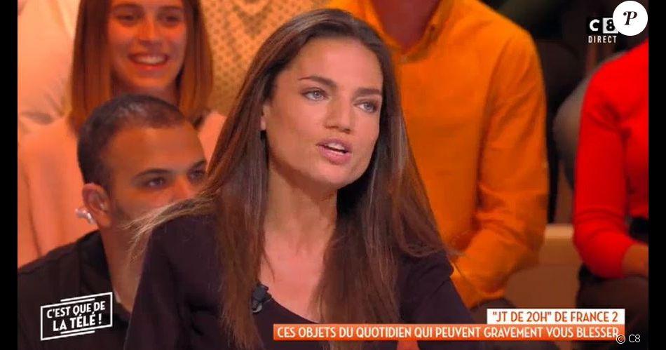 """Francesca Antoniotti dans """"C'est que de la télé"""", C8, lundi 5 novembre 2018"""