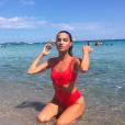 Francesca Antoniotti sexy en vacances en Corse sur Instagram. Juillet 2018.