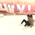 """La lourde chute d'Iris Mittenaere pendant les répétitions de """"Danse avec les stars"""", le 20 novembre 2018."""