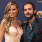 Heidi Klum amoureuse et enlacée avec Tom Kaulitz, torse nu