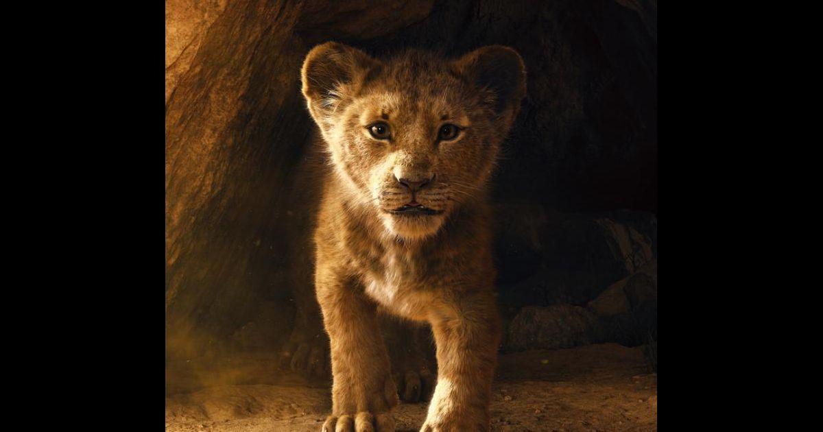 le roi lion   simba irr u00e9sistible dans la 1re bande