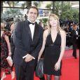 Emmanuel Chain et sa femme au 62ème Festival de Cannes. Pour lui, le costume c'est...  Capital  !
