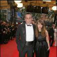 Thierry Ardisson avec sa fille au 62ème Festival de Cannes. L'homme en noir enfin... plus tant que ça !
