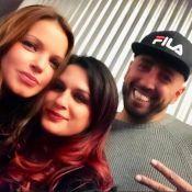 Séverine Ferrer : Selfie avec Larusso, retrouvailles des stars 90