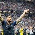 Olivier Giroud - Finale de la Coupe du Monde de Football 2018 en Russie à Moscou, opposant la France à la Croatie (4-2). Le 15 juillet 2018 © Moreau-Perusseau / Bestimage