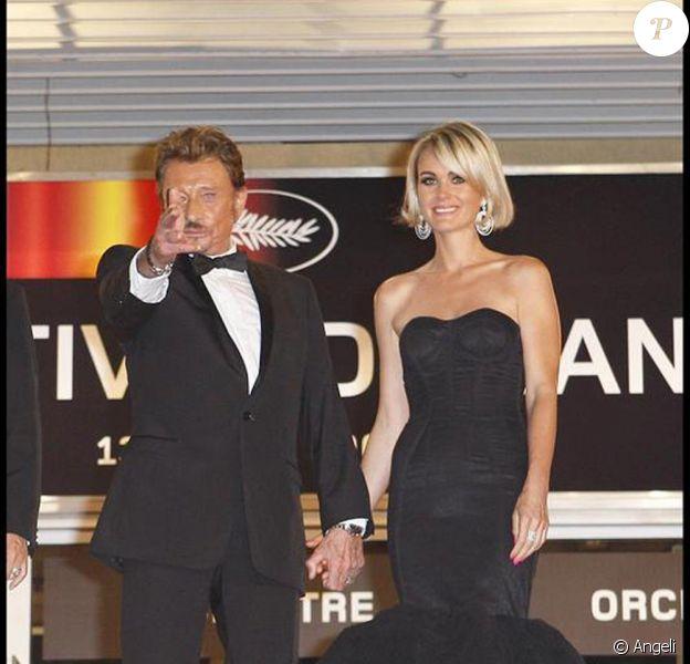 Johnny et Laeticia pour Vengeance sur les marches de Cannes !