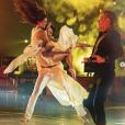"""Iris Mittenaere et Anthony Colette, le 17 novembre 2018 dans """"Danse avec les stars 9""""."""