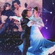"""Iris Mittenaere magnifique le 13 octobre 2018 dans """"Danse avec les stars 9"""" sur TF1."""