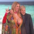 Julia Roberts sur le plateau de l'émission d'Ellen DeGeneres le 30 novembre 2018