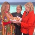 Julia Roberts et Martha Stewart sur le plateau de l'émission d'Ellen DeGeneres le 30 novembre 2018