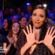 """Shy'm très sexy en soutien-gorge lors de la finale de """"Danse avec les stars 9"""" sur TF1, le 1er décembre 2018."""
