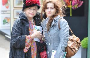 Helena Bonham Carter : Dingue ! Sa mère a le même look qu'elle !