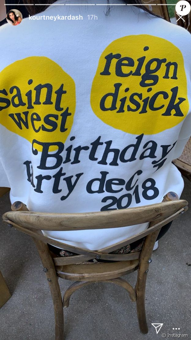 Kim et Kourtney Kardashian ont organisé une grande fête pour les anniversaires de leurs fils Saint et Reign, le 1er décembre 2018.