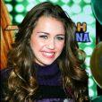 Miley Cyrus à New York, le 24 octobre 2006.