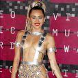 Miley Cyrus aux MTV Video Music Awards à Los Angeles, le 30 août 2015. © CPA/Bestimage
