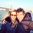 Marie Poniatowski et Pierre Rambaldi. Photo publiée en mars 2015.