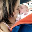 Manon Marsault et Julien Tanti dévoilent des photos de leur fils Tiago - Snapchat, 25 mai 2018